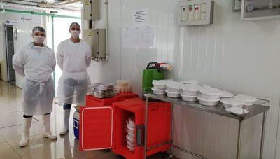 Más de 8.700 platos de alimentos ya proveyó ITAIPU al Pabellón de Contingencia de CDE