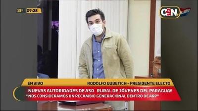 Nuevas autoridades de la Aso. Rural de jóvenes del Paraguay