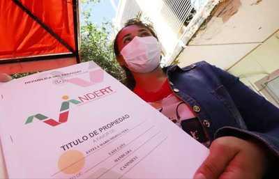 Indert afirma que culminarán regularización de tierras en Santa Fé del Paraná