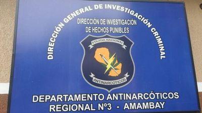Allanan inmueble rural y destruyen 1.750 kilos de supuesta marihuana picada