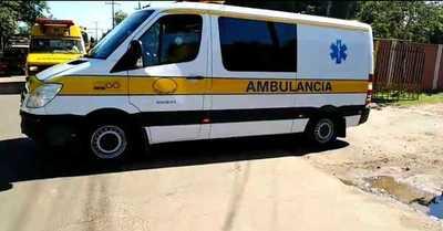 Bomberos Amarillos ovetenses presentaron su nueva ambulancia