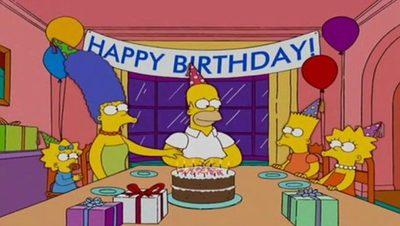¡Feliz cumpleaños, Homero Simpson!