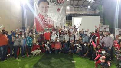 Larroza ratifica compromiso con equipo político de Núñez en la lucha por llegar a la Intendencia de CDE