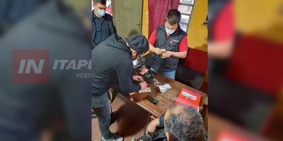 AMANECIÓ BORRACHO, TIRADO EN LA CALLE Y CON MÁS DE 16 MILLONES EN UN BOLSO