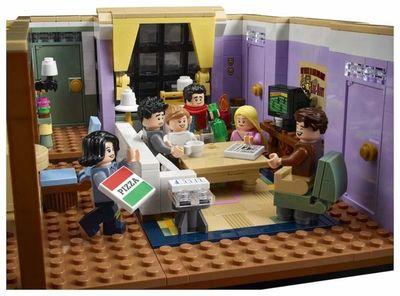 """LEGO recrea los departamentos de los personajes de """"Friends"""""""