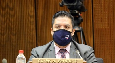 Carlos Portillo es expulsado de la Cámara de Diputados tras polémicos audios