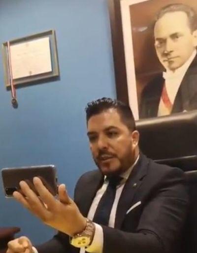 Expulsan al liberal Carlos Portillo de la Cámara de Diputados