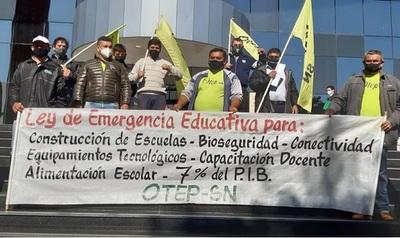 Gremio de maestros propone impuesto a grandes fortunas para enfrentar emergencia sanitaria y educativa