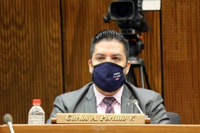 Carlos Portillo fue destituido de la Cámara de Diputados