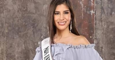 Vanessa Castro reveló porque decidió continuar como Miss Universe Paraguay