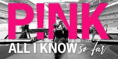 All I Know So Far de P!nk: nuevo álbum + documental que estrena en mayo