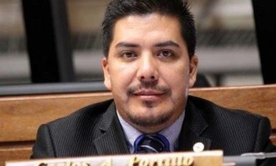 Cámara de Diputados expulsó de su seno al diputado Carlos Portillo