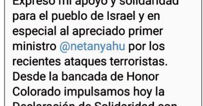 La Nación / Cartes se solidariza con Israel y su primer ministro, Netanyahu