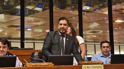 Portillo pierde banca en  Diputados  por exponer oscuro manejo político