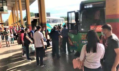 No habrá liberación de horario de buses por feriado largo