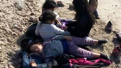 """Granjero de Texas encuentra a cinco niñas migrantes abandonadas y hambrientas: """"Esto tiene que parar ya"""""""