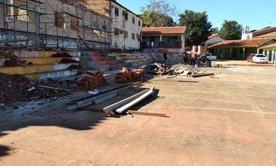 Obras en «Forjadores de la Patria» siguen con mínima ejecución a casi seis meses de adjudicación