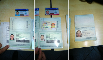 Alerta por supuesta red de falsificadores de documentos
