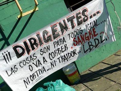 """De bombas al """"va a correr sangre"""": continúa la amenaza de La Barra de Luque"""