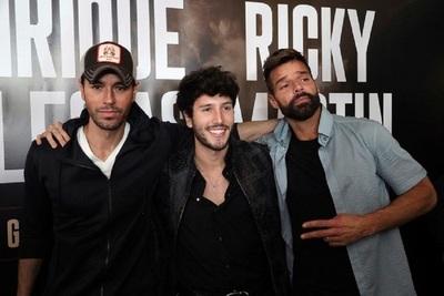 Tres grandes de la música: Ricky Martin, Enrique Iglesias y Sebastián Yatra anuncian las fechas de su gira por norteamérica