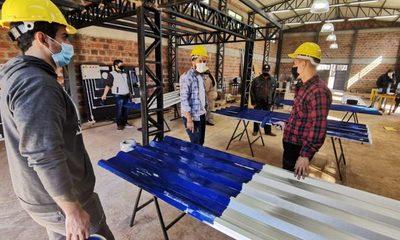 Avanza construcción de nueva casa para doña Librada en Franco
