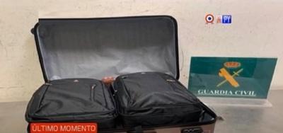Caso de cocaína en maleta: Liberan a paraguaya en España