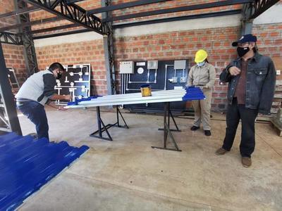 UPE construye nueva casa para doña Librada Benítez