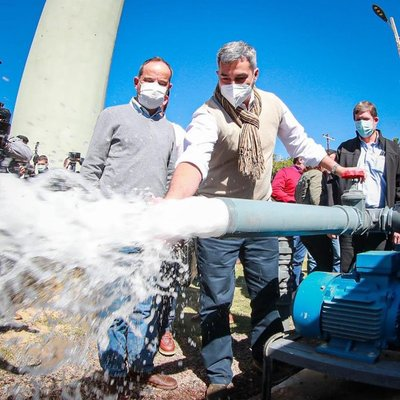 Unas 2000 familias cuentan con agua potable mediante habilitación de planta de tratamiento