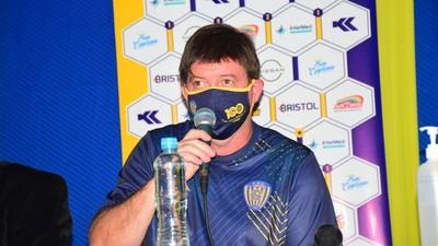 Berti se instala en Sportivo Luqueño