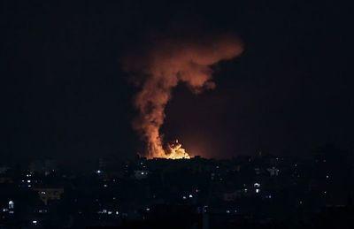 Intensos bombardeos israelíes desde tierra y aire en Gaza