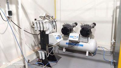IPS al límite con la   provisión de oxígeno y habilitarán otra planta