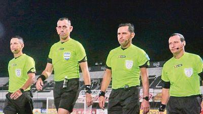 Los árbitros de la fecha 16