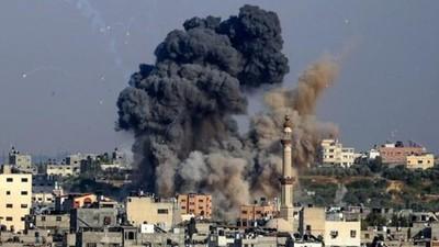 Ataques israelíes dejan más de 100 muertos en Gaza desde el lunes