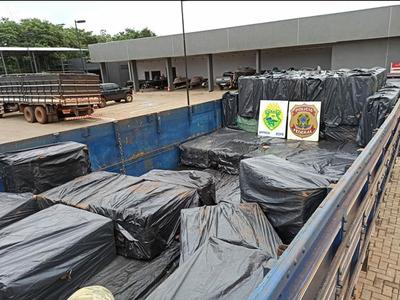 En varias intervenciones CAEN miles de gruesa de CIGARRILLOS producidos por TABESA