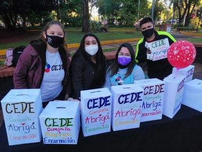 CEDE IMPULSA CAMPAÑA ''ABRIGÁ ENCARNACIÓN''