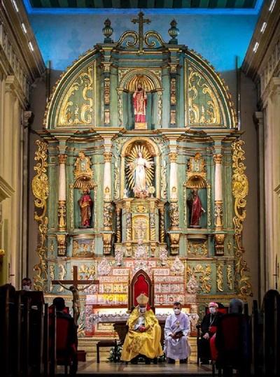Durante la celebración del Te Deum, la iglesia insta al diálogo sincero para lograr el bien común