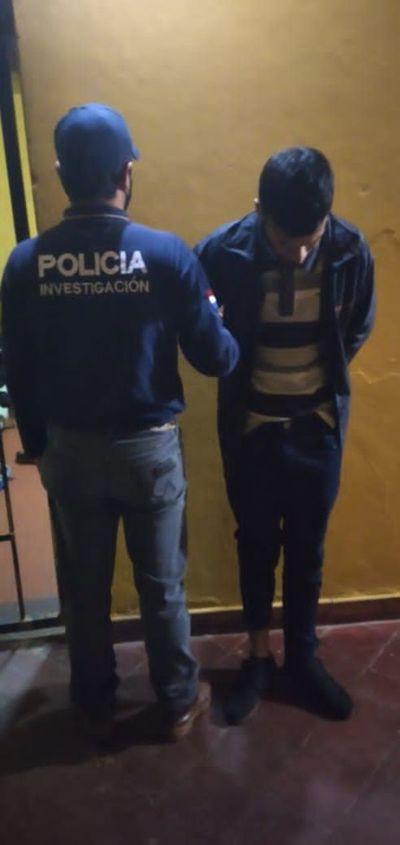 Detienen a empleado infiel que simuló ser víctima de robo agravado