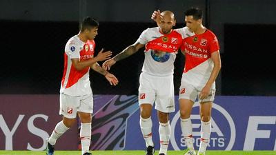 Dionicio Pérez marca el mejor gol de la semana en la Sudamericana