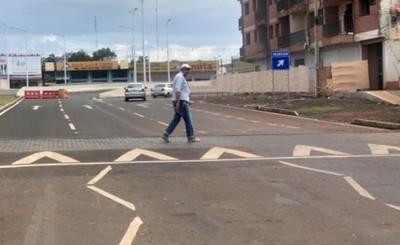 Multiviaducto: Instruyen sobre las demarcaciones y pasos peatonales