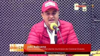 Julio Balbuena trató de títere a Marcos Benítez – Prensa 5