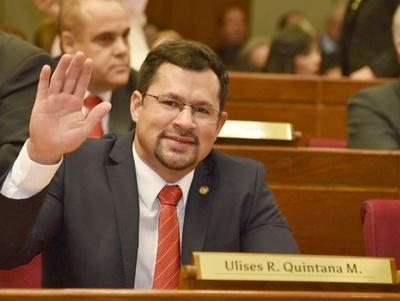 """Diputado Ulises Quintana: """"Todo está corriendo muy bien, tengo un palpite importante de victoria"""""""