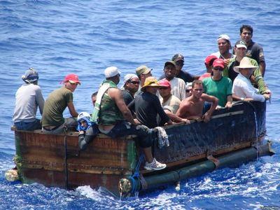 22 migrantes cubanos interceptados en el mar por Estados Unidos fueron repatriados