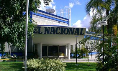 El dictador Maduro embargó la sede del periódico venezolano El Nacional