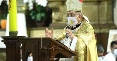 La Nación / Enfrentamos dos guerras, la pandemia y la corrupción, sostuvo el arzobispo