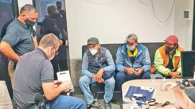 Dinac: 4 detenidos más como parte de esquema  de plantación de droga