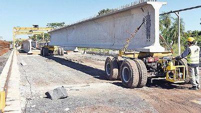 Consorcio que hace el puente de Chaco'i invirtió USD 1 millón