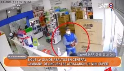 Ola de delincuencia: Asaltantes atacaron comercio en Lambaré