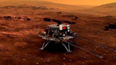China aterriza con éxito su primer rover en Marte, convirtiéndose en el segundo país en lograrlo