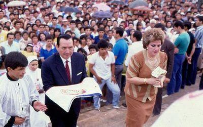 Falleció Nelly Reig, viuda del ex presidente Andrés Rodríguez