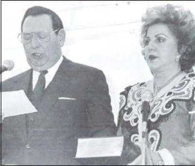 Fallece Nelly Reig de Rodríguez, ex Primera Dama de la Nación
